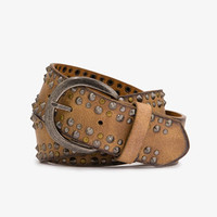 Studded Distressed Faux Leather Belt | FOREVER 21 - 2043010021