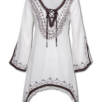 NEW! Peace Kurta: Soul-Flower Online Store