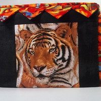 2 slice Toaster Cover with Tiger