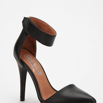 Jeffrey Campbell Solitaire Pointy-Toed Heel- Neutral Multi