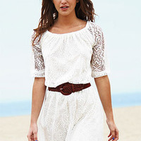 dELiAs &gt; Allover Long-Sleeve Lace Dress &gt; dresses &gt; casual