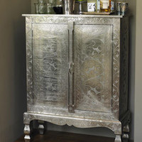 [sold out] Etched Silver Armoire