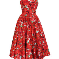 Blooming Marvelous 50s Style Rockabilly Swing Dress | Style Icon`s Closet
