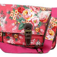 Jasper Pink Mini Floral Laminate Summer Crossbody Bag