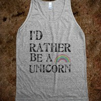 I'd rather be a Unicorn - Get in my Closet