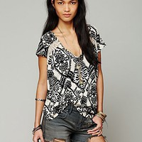 Free People Love Me Do Swing Tee