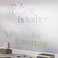 Believe In Today Decal
