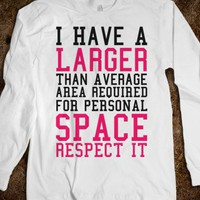 Personal Space Required Shirt