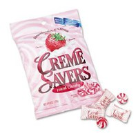 LifeSavers 08393 - STRAWBERRY CREME SAVERS HARD CANDY, 6OZ PACK: Amazon.com: Grocery &amp; Gourmet Food