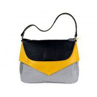 Yellow Polka Dot Handbag