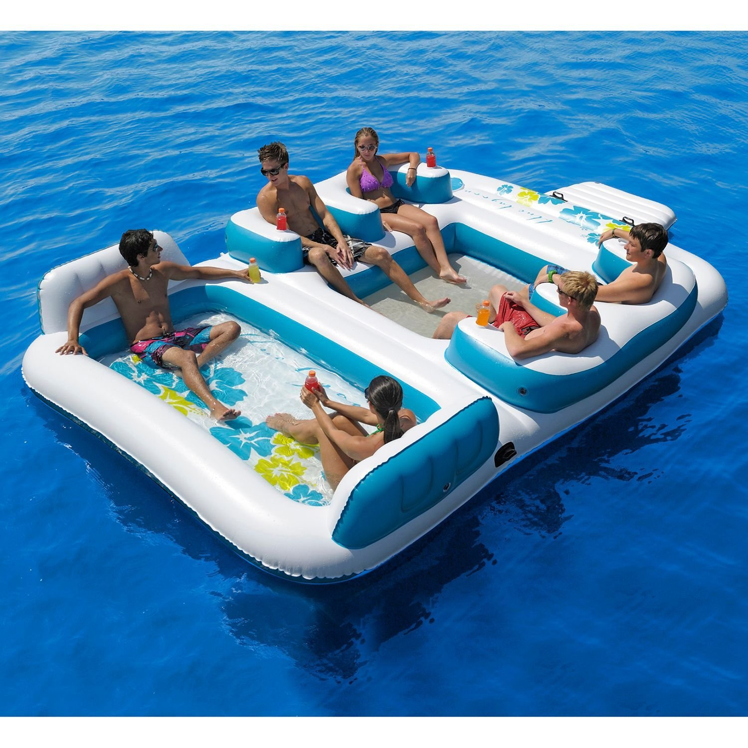 New Giant Inflatable Floating Island 6 From Amazon Things I