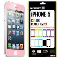 Amazon.com: SQ 1 [Mercury] Matte Finish Color Screen Protector for Apple iPhone 5 (Pink): Cell Phones & Accessories
