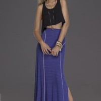 Papo Tank - Black &amp; Adora Skirt - Cobalt - L*Space - The Collection - Swimwear
