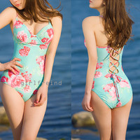 Charming flower print bikini/swimsuit from Girlsfriend