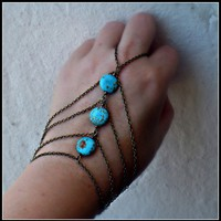 turquosie slave bracelet 