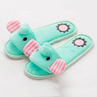Cute Elephant Indoor Slippers