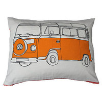 campervan cushion by helena carrington | notonthehighstreet.com