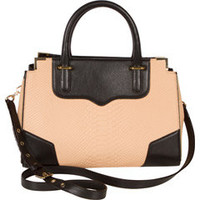 Rebecca Minkoff Amourous Tan Snake Tote