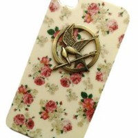 Punk Style Mobile Phone Case for iPhone 5 Hunger Games Cell Phone Skin