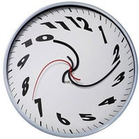 DALI MELTING TIME WALL CLOCK