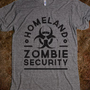 Homeland Zombie Security - Zombtee