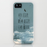 Aim Higher iPhone Case by Belle13 | Society6