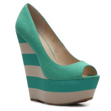 Zigi Soho Pizzazz Wedge Pump Peep Toes Pumps & Heels Women's Shoes - DSW