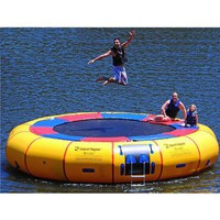 Island Hopper Acrobat 20 Foot Water Trampoline 2011: Sports & Outdoors