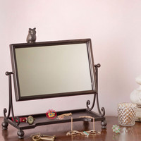 All Wise on Me Mirror | Mod Retro Vintage Decor Accessories | ModCloth.com
