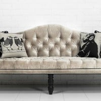 www.roomservicestore.com - Custom Mademoiselle Sofa in Brussels Moonbeam