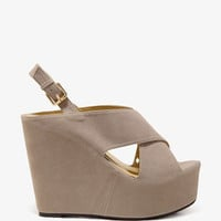 Chunky Wedge Sandals | FOREVER 21 - 2044696397