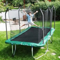 Skywalker Summit 8&#x27; x 14&#x27; Rectangle Trampoline and Enclosure