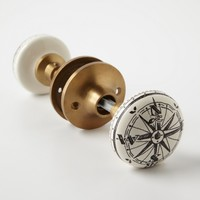 Compass Doorknob