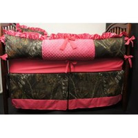 Amazon.com: Custom Made Baby Crib Bedding Mossy Oak break up camo hot pink: Everything Else