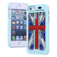 The Union Jack Sliding Hard Cover Case For Iphone 4/4s/5