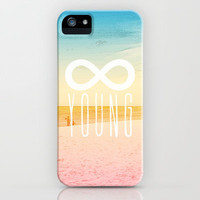 Forever Young iPhone Case by MN Art