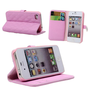 Pink Soft Wallet For Iphone 4/4S