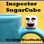 Inspector SugarCube: An Original, Collectible Art Toy from LittleWooStudio