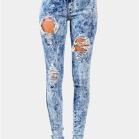 Sweet Slice Jeans - Dark Blue at Necessary Clothing