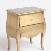 UrbanOutfitters.com > Brass Leaf Side Table