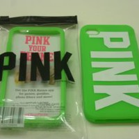 Victoria`s Secret PINK Soft iPhone 4 / 4S Case In CELERY (Neon Green): Cell Phones & Accessories