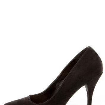 Holly 41 Black Pointed Pumps