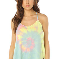 ONeill Top Side Step Tie Dye in Multi