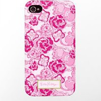 Lilly Pulitzer - iPhone 4/4s Cover- Phi Mu