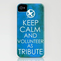 Keep Calm And Volunteer as Tribute iPhone Case by Ryan James Caruthers | Society6