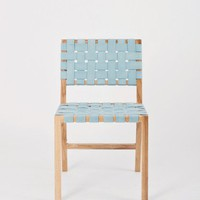 Canvas Weave Chair for Kate Sylvester