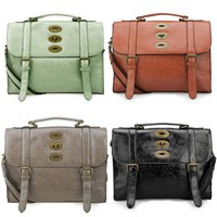 Vintage Style Cambridge Satchel