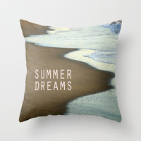 Summer Dreams Throw Pillow by Guido Montañés | Society6