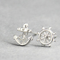 Navy Style Earrings