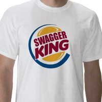 SWAG KING TSHIRT on Zazzle.co.nz